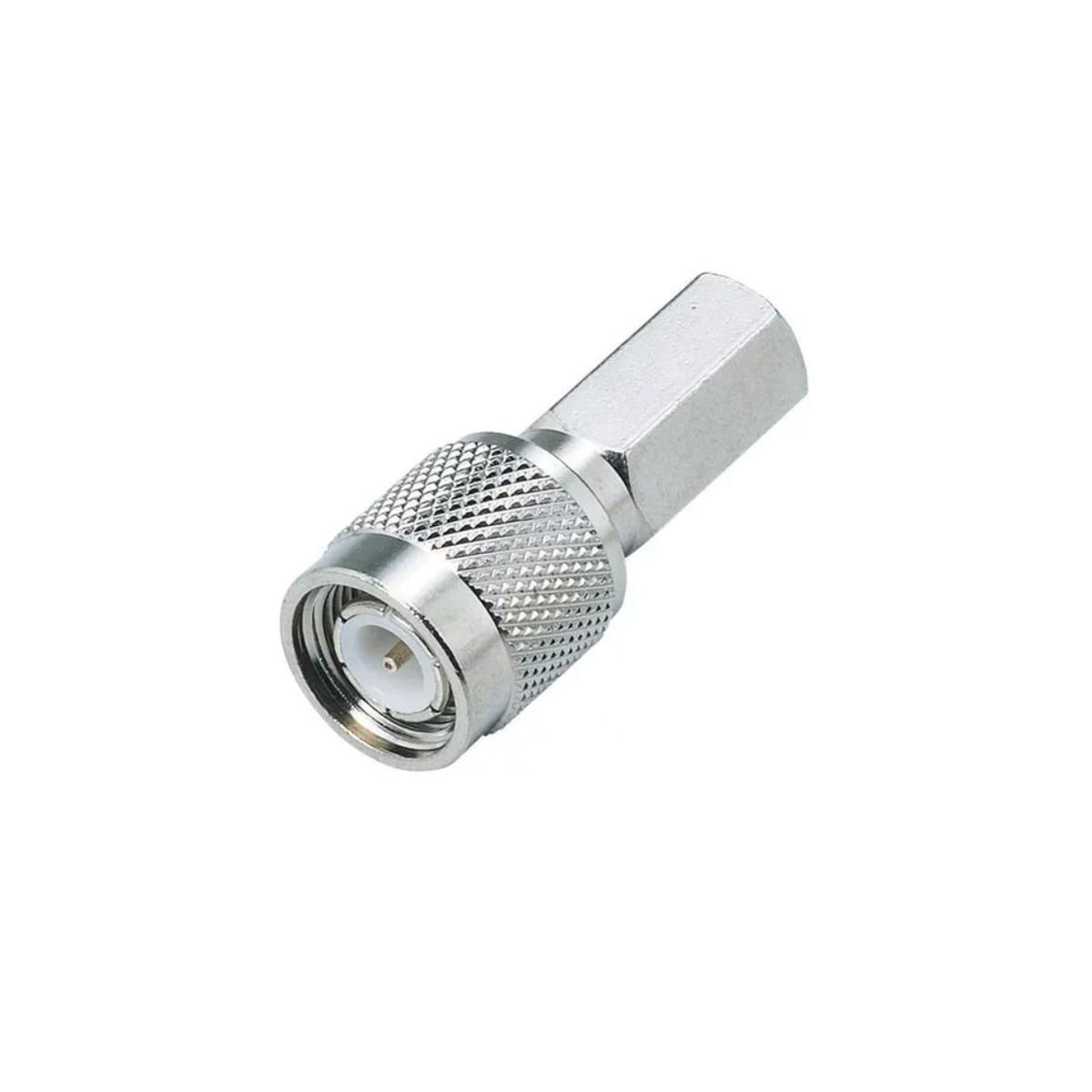 Adaptador Conector Tnc Macho Rg6 Rosca Teléfono Fijo